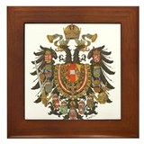 Austrian empire Framed Tiles