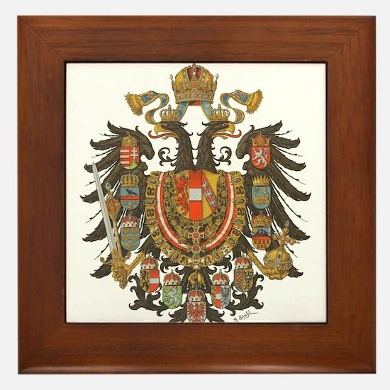 Austria-Hungary Framed Tile