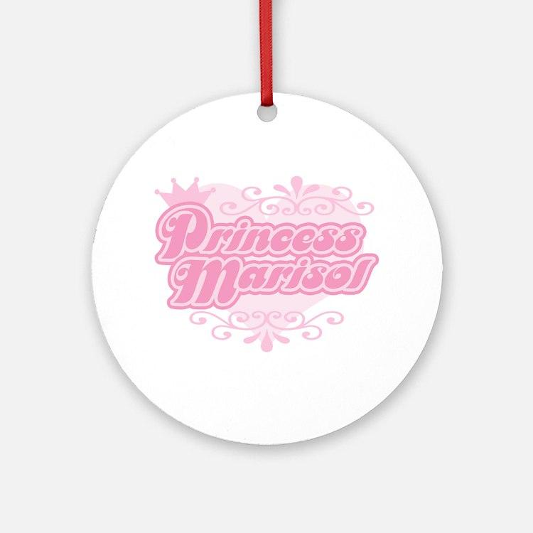 Princess Marisol Ornament (Round)