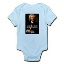 Composer J.S. Bach Infant Creeper
