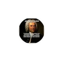 Composer J.S. Bach Mini Button (10 pack)