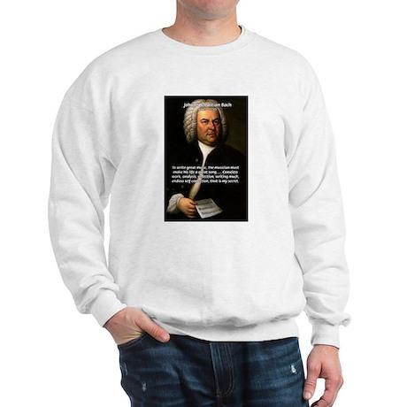 Composer J.S. Bach Sweatshirt