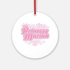 Princess Mariah Ornament (Round)