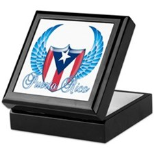 Puerto rican pride Keepsake Box