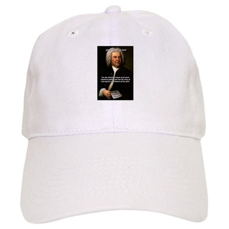 Glory God Music J. S. Bach Cap