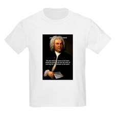 Glory God Music J. S. Bach Kids T-Shirt