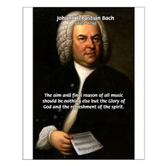 Glory God Music J. S. Bach Posters