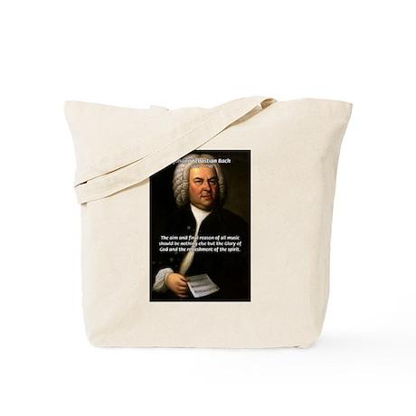 Glory God Music J. S. Bach Tote Bag