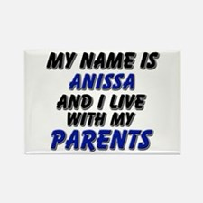 my name is anissa and I live with my parents Recta
