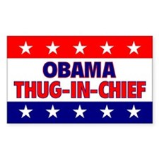 Thug-In-Chief Rectangle Decal