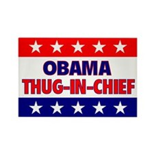 Thug-In-Chief Rectangle Magnet