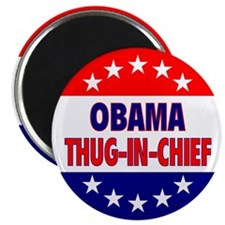 "Thug-In-Chief 2.25"" Magnet"