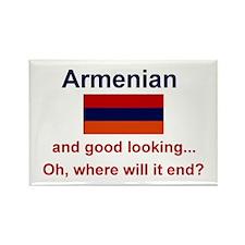 "Good Looking Armenian Magnet (3""x2"")"