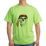 American indian Green T-Shirt