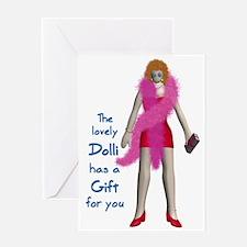 Dolli Gift Greeting Card