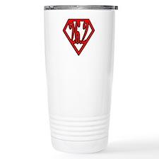 Superman the Runner Travel Mug