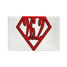 Superman the Runner Rectangle Magnet (10 pack)