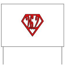 Superman the Runner Yard Sign