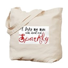 I like my men Tote Bag