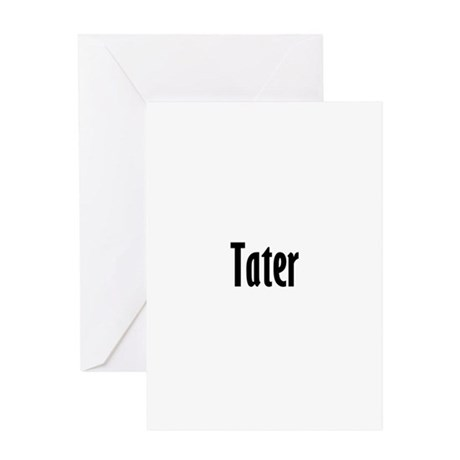 tater Greeting Card
