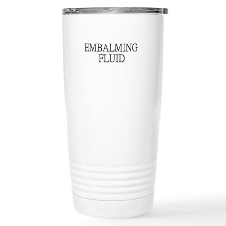 Embalming Fluid Stainless Steel Travel Mug