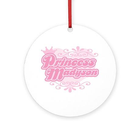 Princess Madyson Ornament (Round)