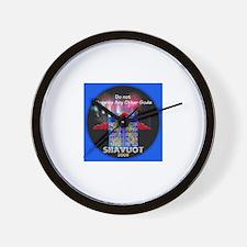 Shavuot God Wall Clock