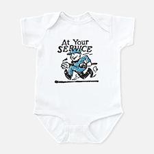 At your service Infant Bodysuit