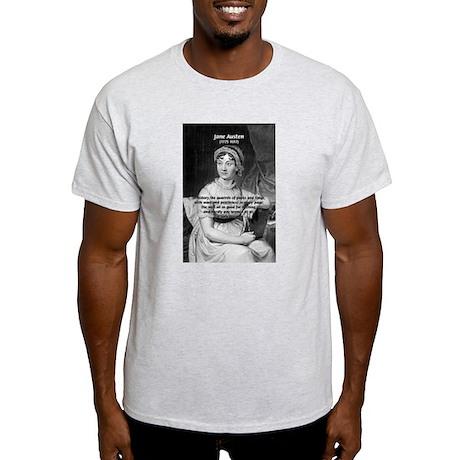 Women in History Jane Austen Ash Grey T-Shirt