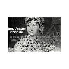Women in History Jane Austen Rectangle Magnet (100