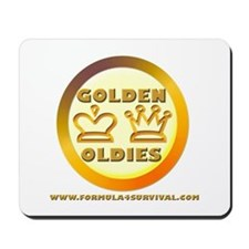 Golden Oldies Mousepad