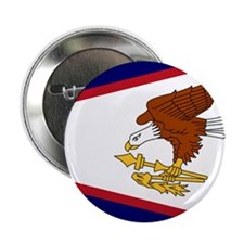 """Flag of American Samoa 2.25"""" Button (100 pack"""
