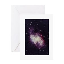 Gaseous Nebula Greeting Card