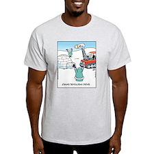 Eskimo Demolition Crews Ash Grey T-Shirt