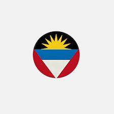 Flag of Antigua and Barbuda Mini Button