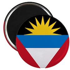 "Flag of Antigua and Barbuda 2.25"" Magnet (10"