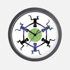 Soccer Fan Wall Clock
