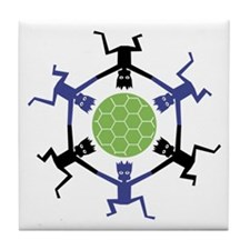 Soccer Fan Tile Coaster