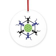 Soccer Fan Ornament (Round)