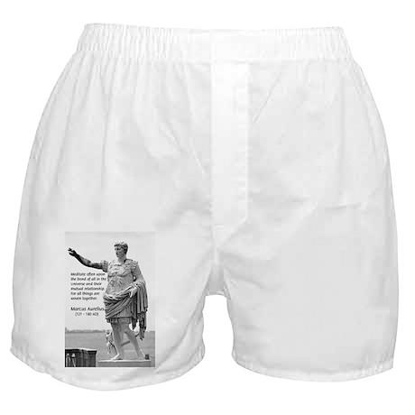 Universe: Marcus Aurelius Boxer Shorts