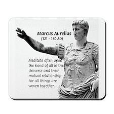 Universe: Marcus Aurelius Mousepad