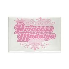 Princess Madalyn Rectangle Magnet