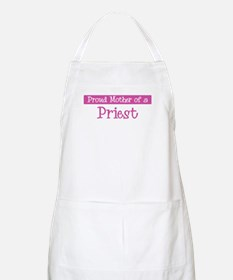 Proud Mother of Priest BBQ Apron