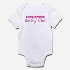 Proud Mother of Pastry Chef Infant Bodysuit