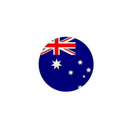 Flag of Australia Mini Button