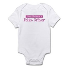 Proud Mother of Police Office Infant Bodysuit