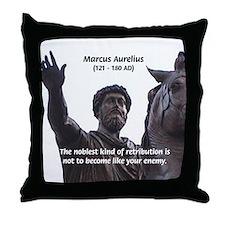 Emperor Marcus Aurelius Throw Pillow
