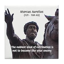 Emperor Marcus Aurelius Tile Coaster