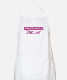 Proud Mother of Plumber BBQ Apron