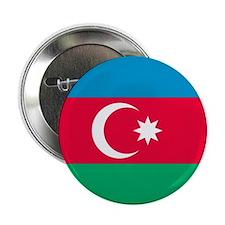"""Flag of Azerbaijan 2.25"""" Button (10 pack)"""